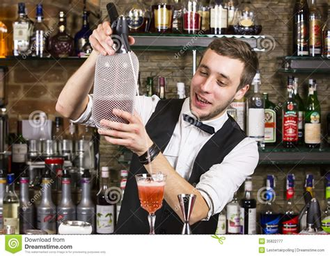 bartender photography bartender stock image image of alcoholic attractive