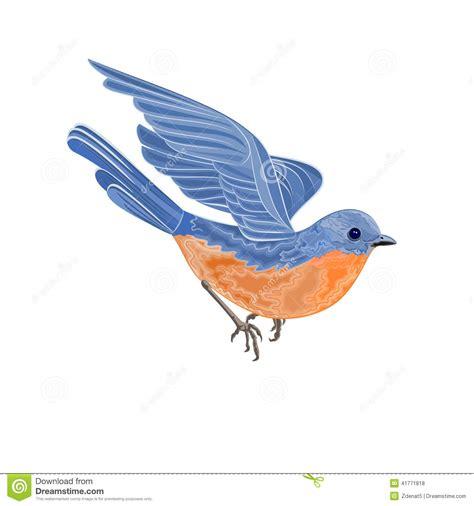 Birds Illustration flying bird vector illustration stock vector