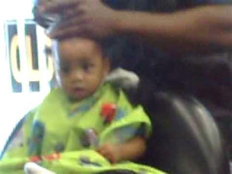 1 year old black boys hair cuts baby boy first hair cut one youtube