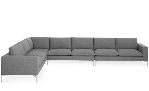sectional couche new standard large sectional sofa hivemodern com
