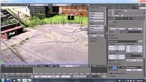 blender tutorial tracking camera blender 2 6 tutorial 17 camera tracking pt 1 2 youtube