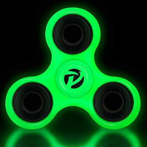 Fidget Spinner Glow In The Bearing Besi proloso tri fidget spinner glow in the ebay