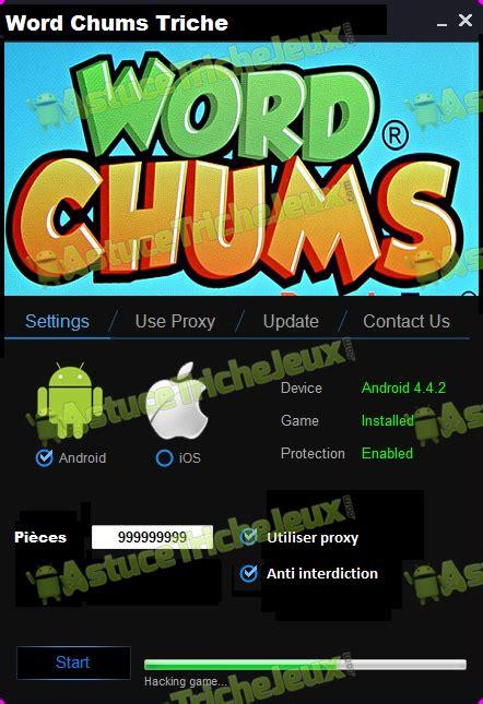 word chums apk word chums triche astuce pi 232 ces illimite gratuit