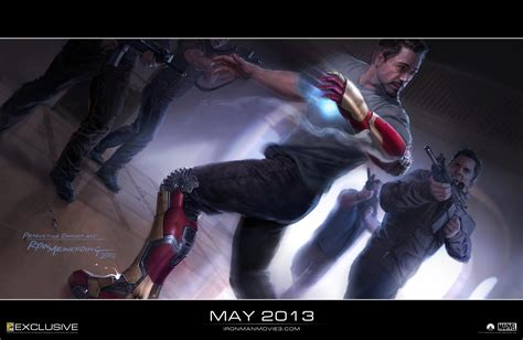 film marvel iron man iron man 3 concept art collider