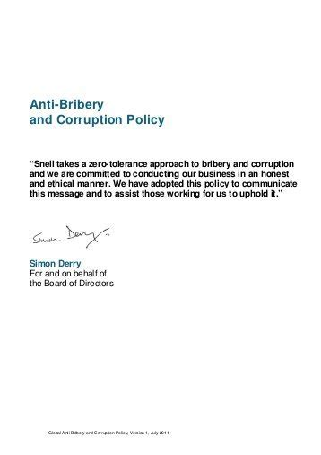 bribery and corruption policy template anti bribery and corruption policy template new gsk anti