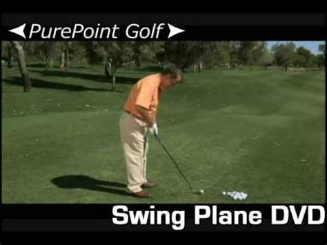 how to keep your golf swing on plane stay on plane with every swing using the purepoint golf