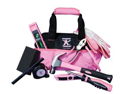Not So Pink Tool Kit by Tomboy Tools 11 Pink Traveler Tool Kit 71508