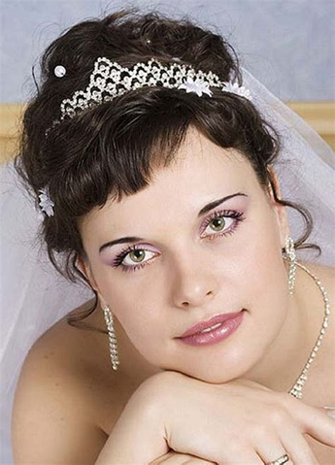 Wedding Hairstyles For Medium Length Hair With Bangs by Beautiful Wedding Hairstyles For Medium Length Hair With Bangs