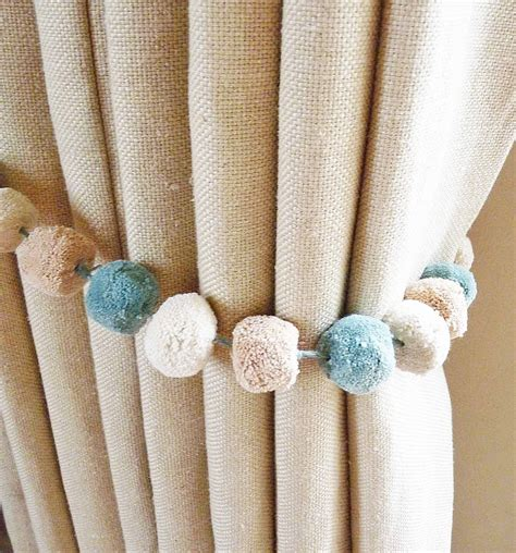 curtain tie back hooks pottery barn fabric curtain tie backs diy savae org