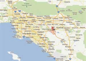 map of corona california corona california map