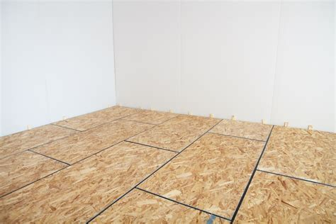 sub floor how to install amdry insulated subfloor to finish your