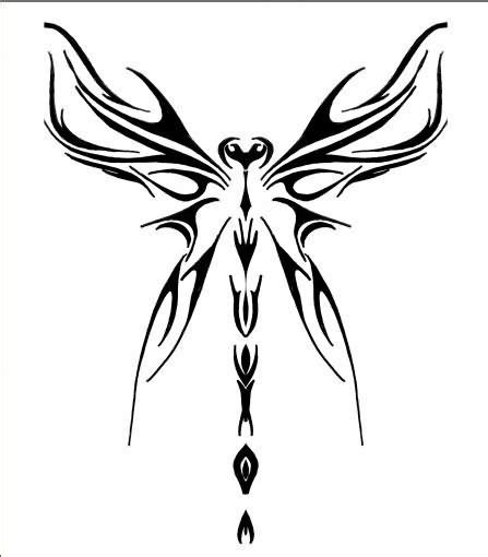 tribal dragonfly tattoo meaning tribal dragonfly tattoos design