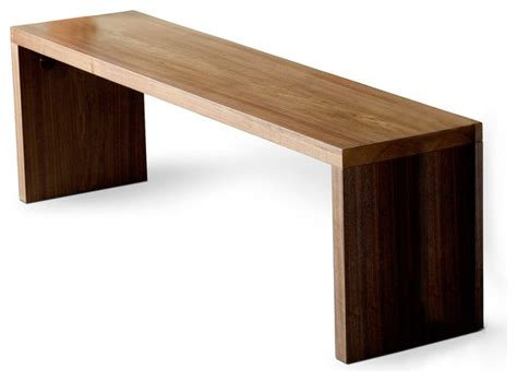 gus plank dining bench modern dining benches