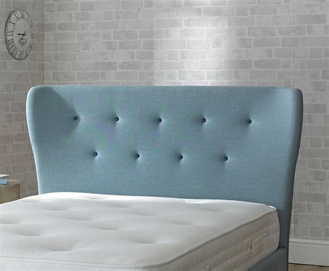 Duck Egg Blue Headboard by Alaska Duck Egg Blue Upholstered Bed Frame