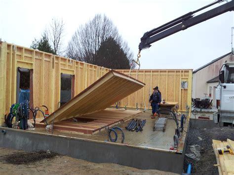 autoconstruction garage ossature bois autoconstruction de notre maison ossature bois