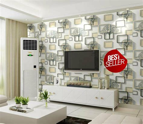 jual wallpaper dinding sticker minimalis kotak  lapak