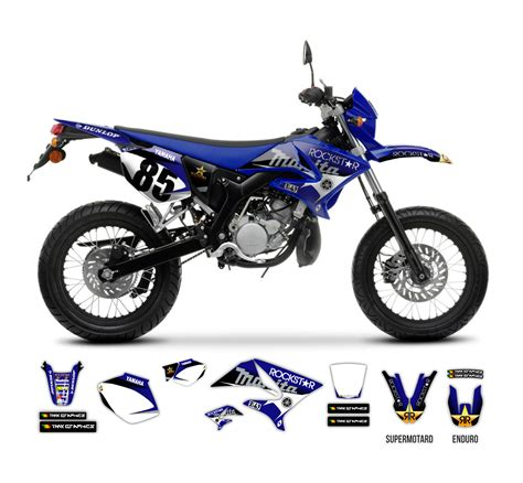 Yamaha Dt Aufkleber by Yamaha Dt 50 X R Rockstar Makita Graphics Series Tmx
