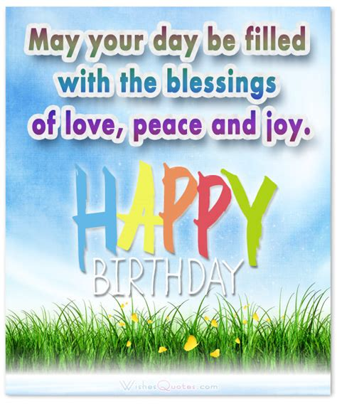 Birthday Blessing Wishes Quotes Christian Birthday Wishes
