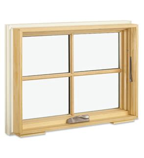 custom wood casement awning windows
