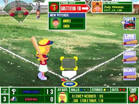 play backyard baseball 2003 let s play backyard baseball 2003 game 4 philadelphia