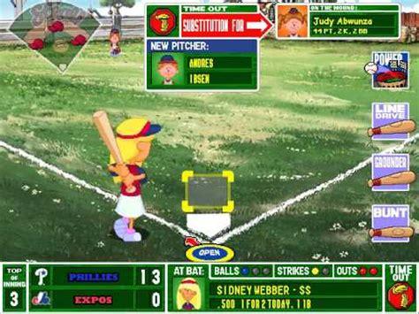 Backyard Baseball Lineup Let S Play Backyard Baseball 2003 4 Philadelphia