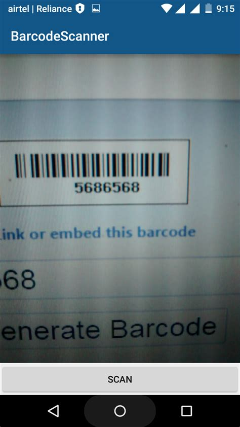 tutorial android zbar android development tutorials barcode and qr code scanner
