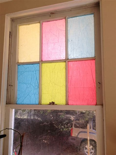 Decoupage Tissue Paper Glass - 248 best images about repurposed windows on
