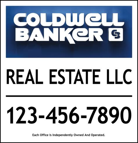 coldwell banker home protection plan reviews coldwell banker 174 real estate 3d sign panel 24 ga steel 25