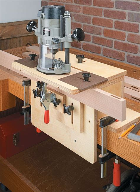router mortising jig woodsmith plans youll  making
