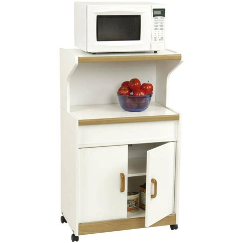 white cabinet microwave microwave cabinet with shelves white ebay