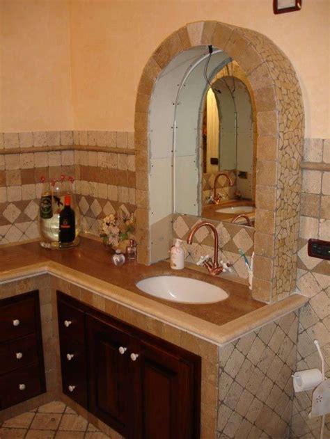 bagni in muratura rustici arredo bagno in muratura foto design mag