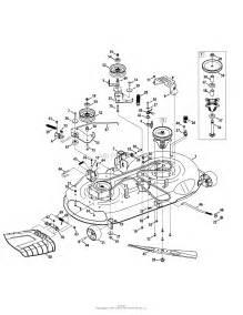 troy bilt 13yx79kt011 xp 2014 parts diagram for mower deck
