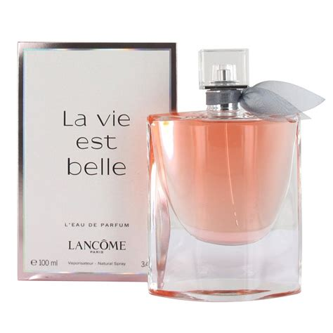 Parfum Luck For Edp 100 Ml Original lancome la vie est l eau de parfum 100 ml spray