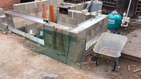 How To Make A Glass L by Koi Pond Window Frames And Glass Atlantica Gardens