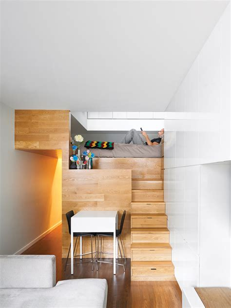 small house with loft loft beds maximizing space since their clever inception