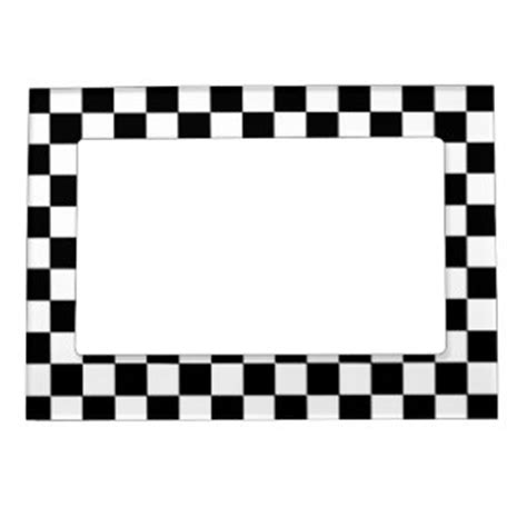white pattern photo frame checkered magnetic frames checkered picture frame magnets