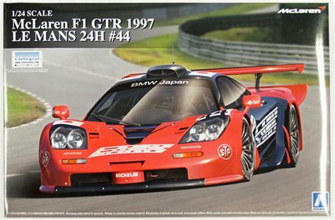 124 Mclaren F1 Gtr 1997 Le Mans 24h aoshima 1 24 mclaren f1 gtr 1997 le mans 24h rick s model kits