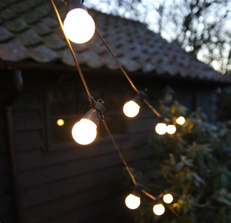Festoon Outdoor Lights Outdoor Festoon Lights By Lilly Notonthehighstreet