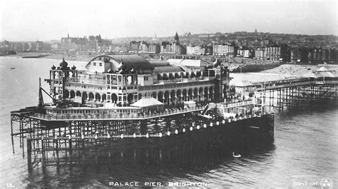 the palace pier and theatre brighton later brighton pier brighton palace national piers society