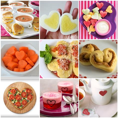 valentines food ideas sheek shindigs lots of healthy food