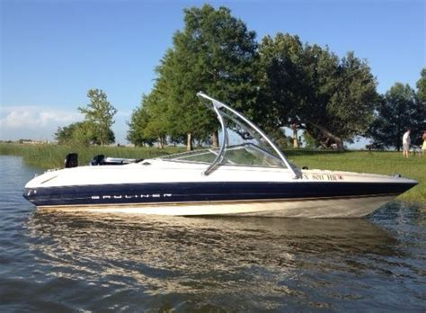deck boat wake tower bayliner boat with a big air ice tower universal