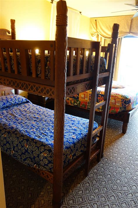 Animal Kingdom Lodge Bunk Beds Photo Tour Of A Standard Room At Disney S Animal Kingdom Lodge Jambo House Yourfirstvisit Net