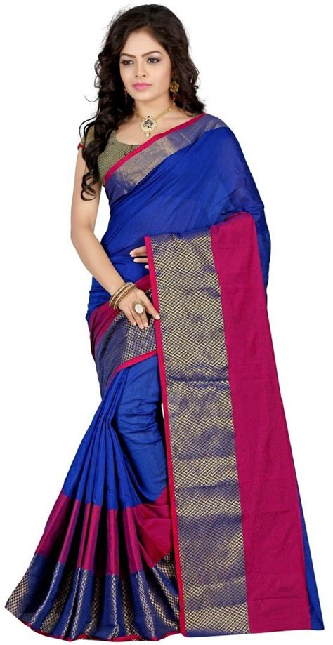 Sale Sari Kurma Almadinah Original buy gopalvilla self design daily wear silk blue sarees