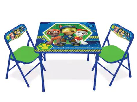 paw patrol table set couponing