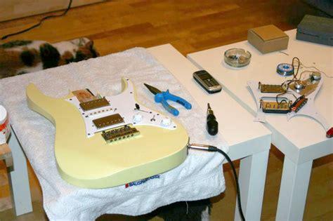 Gitarre Klarlackieren by Juli 2007 Herr Edelmann Erz 228 Hlt