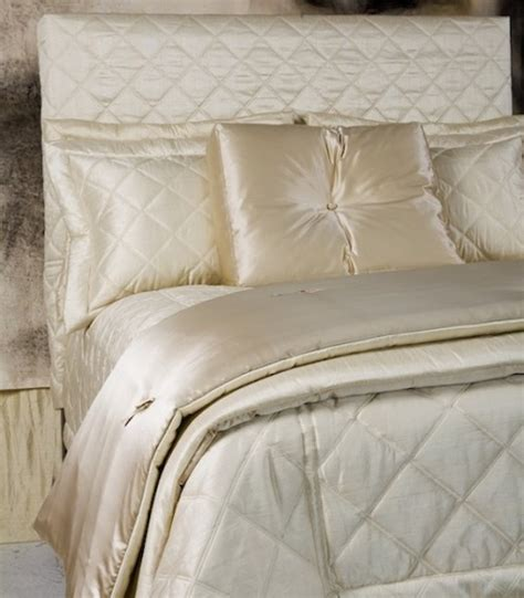 satin quilted coverlet ann gish big diamond dupione silk quilted bedding j