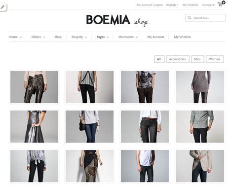 boemia the best responsive wordpress ecommerce theme