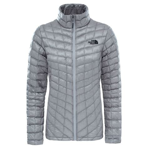 design your own north face jacket the north face ladies thermoball jacket metallic silver
