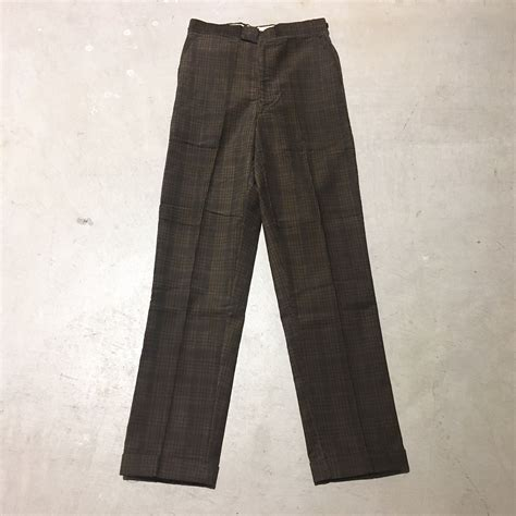 Corduroy Tapered 1960 s unknown corduroy tapered slacks deadstoc