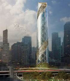Slab House Plans six proposals to replace chicago s spire the tower that
